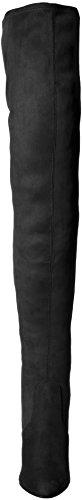 alcantara Bota Steve Madden tejido Negro elástico en negro 7wgvTw1