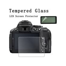 Nikon D750 LCD Tempered Glass Screen Protector, Wpeng Optical 9H Hardness 0.3mm Ultra-Thin DSLR Camera Tempered Glass With Shoulder Screen Protector for Nikon D750