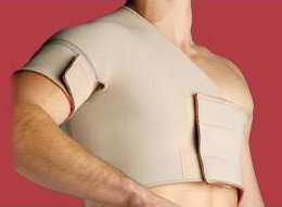 Thermoskin Single Shoulder Right Medium Beige by Swede-O, Inc.