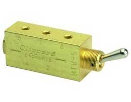 Clippard M-MTV-5, MTV Series Toggle Valves, Direction Control Valves by Clippard