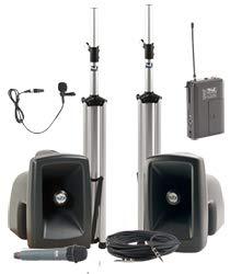 Anchor Audio MEGA-DPDUAL-HH-LM MegaVox Dual Deluxe Package