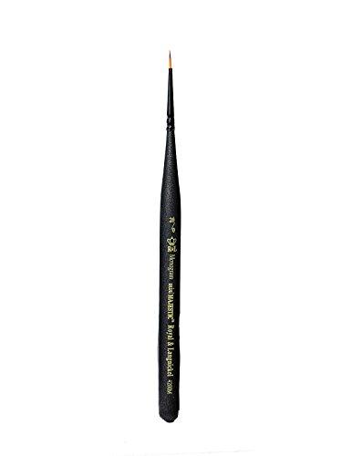 Royal & Langnickel Series 4200 Mini-Majestic Brushes 20/0 monogram [PACK OF 6 ]
