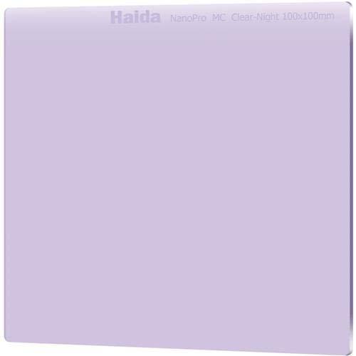 Haida 100mm Clear-Night Filter NanoPro MC Light Pollution Reduction for Sky / Star 100 x 100 by Haida