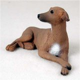 Italian Greyhound Original Dog Figurine (4in-5in) Greyhound Dog Figurine