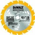 Dewalt DW3592B10 7-1/4 inch 18T Portable Construction Blade Carbide Tipped
