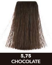 MEILAB - Tinte permanente sin amoniaco - Pack de 3 unidades - Color Castaño claro chocolate #5-75