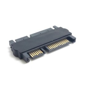 HDMIHOME 3.5 & 2.5inch SATA 22Pin 7+15 Male to SATA 22P 7+15 Male extension convertor Straight adapter