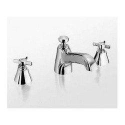 TOTO TB970DD#PN Guinevere Deck Mounted Bath Faucet, Polished - Tub Faucet Guinevere