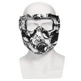 Matt Black Motorbike Helmet - 7