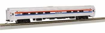 Amtrak 3 Car (Bachmann Industries Inc. Amtrak Budd Passenger Car 85' Amfleet I Phase III Amtrak Cafe (Lighted Interior) - N Scale)