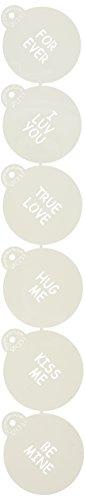Designer Stencils C251 Sayings semi transparent product image