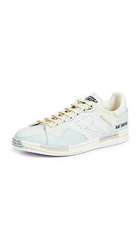 adidas by RAF Simons Men's Peach Stan Sneakers, Peach, Blue, 11 M US