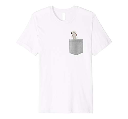 Bedlington Terrier Dog In Your Pocket Shirt ()