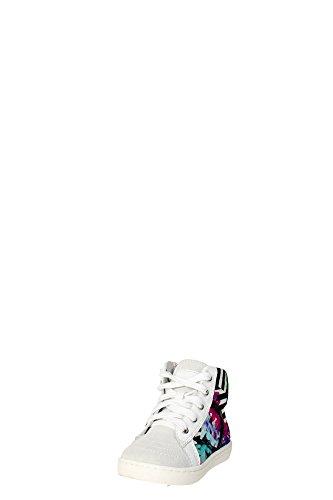 CULT - Baskets multicolore à lacets, en tissue et suède, glissière latérale,fille,filles,femme,femmes,enfant