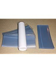 - 50 Clear Shrink Wrap Bands Sleeves for Lip Balm (Chapstick) Tubes - VERTICAL PERFORATION