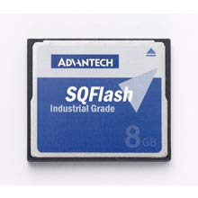 ADVANTECH SQF-P10S2-2G-P8E SQF 2G SLC CF 2CH P8 DMA (-40~85°), 2G Industrial Wide Temp Compact Flash Card, SLC 2-Channel P8 DMA (-40~85), SQFlash Software -