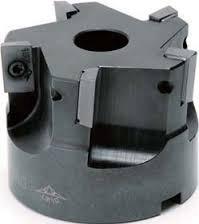 【刃先交換工具】「仕上げ平面&立壁加工用」 高能率ラジアスカッタ ダイジェット バックドラフト DBD形 (DBD-6080R-25.4) B01KJ4ZRC2