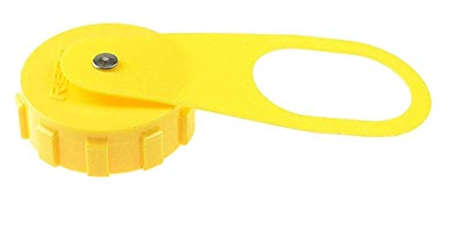 Manchester V13230/G-1014A LP Fill Valve Cap - Yellow (8 Pack)