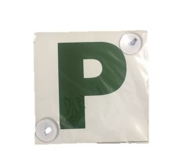 P Plates Sign for New Drivers With 2 Suction Cups