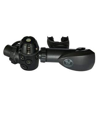 Poseidon Xstream Black DIN Scuba Diving Regulator, 70cm Hose