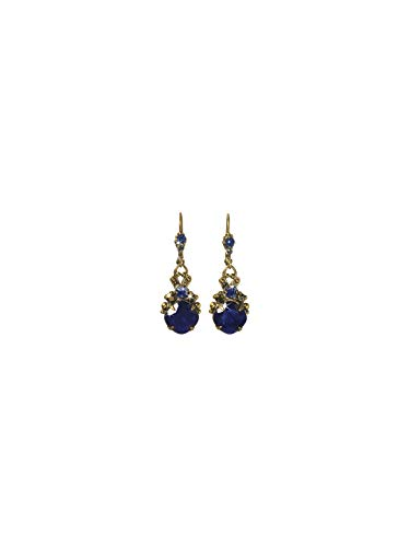 Sorrelli Royalty Drop Earring, Blue, 1.5