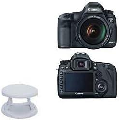 Phone Grip for Canon EOS 5D Mark III (Phone Grip by BoxWave) - SnapGrip Tilt Holder, Back Grip Enhancer Tilt Stand for Canon EOS 5D Mark III - Winter White