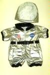 [Astronaut Costume Outfit Teddy Bear Clothes Fit 14
