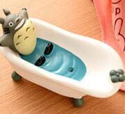 For Boats Dishes (AMZLUCKY - Cute Cartoon Bathroom Kitchen Storage Soap Holder Box Moulds Cat Beer Soap Dishes Boat Shape Organizer Holders For Kitchen)