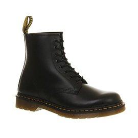 Dr. Martens, Stivali uomo Nero (Black Leather)