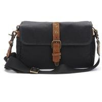 ONA - The Bowery - Camera Messenger Bag - Black Waxed Canvas (ONA5-014BL)