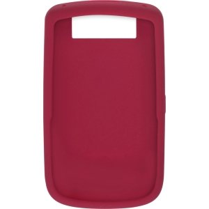 BlackBerry 9630 Skin Cover Case (Dark Red) (Case 9630 Rubberized)