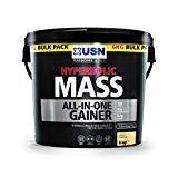 fitnesshealth USN Hyperbolic Mass All-in-One Gainer Shake Powder, Vanilla, 6 kg