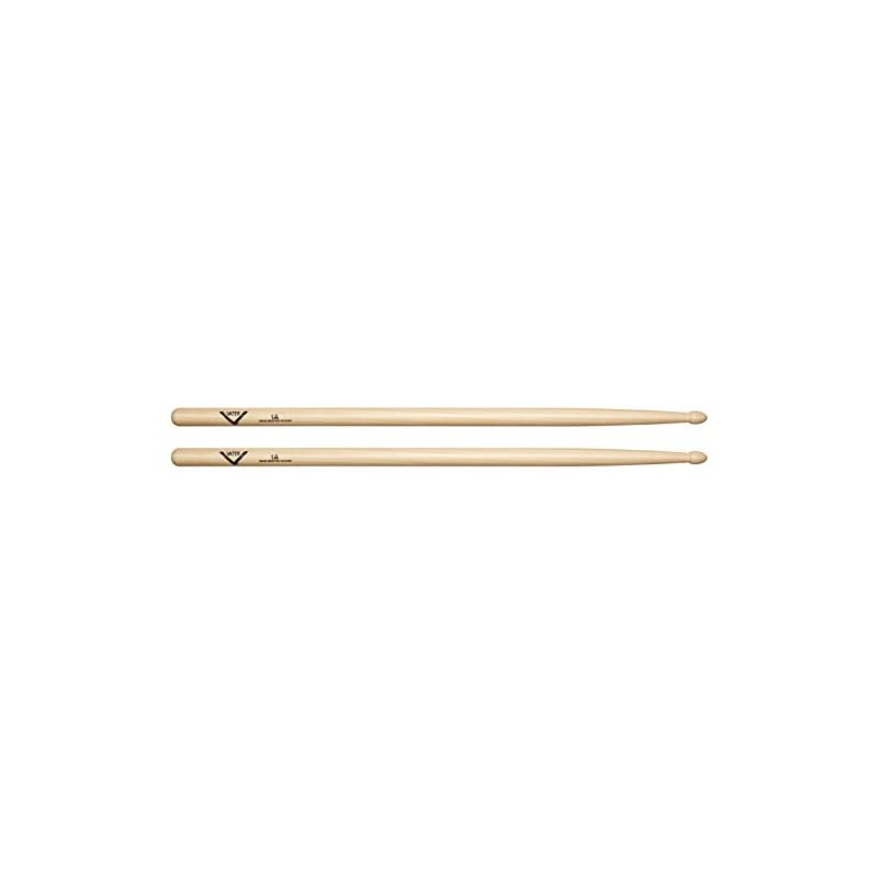 Vater VH1AW 1A Wood Tip Hickory Drum Sti