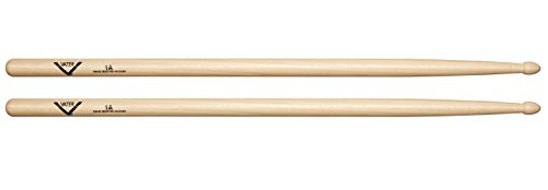 Vater 1A Wood Tip Hickory Drum Sticks, Pair