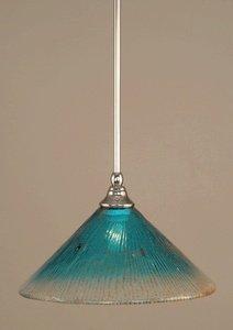 Teal Blue Pendant Light - 9