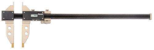 Starrett B5000BZ-20/500 5000 Kohlefaser-Messschieber mit Spitzstiften, 0-50,8 cm Skala, 0,0005 cm Auflösung