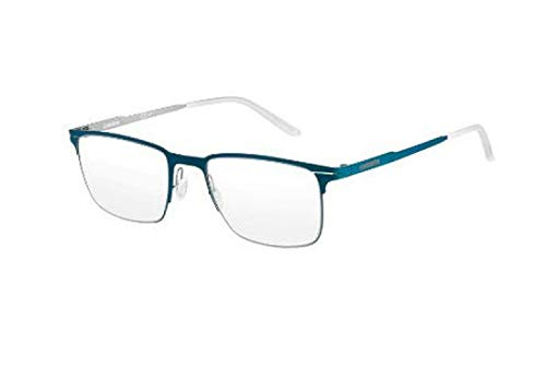 Carrera 6661 Eyeglass Frames CA6661-0VCB-5220 - Matte Teal / Palladium Frame, Lens Diameter 52mm,