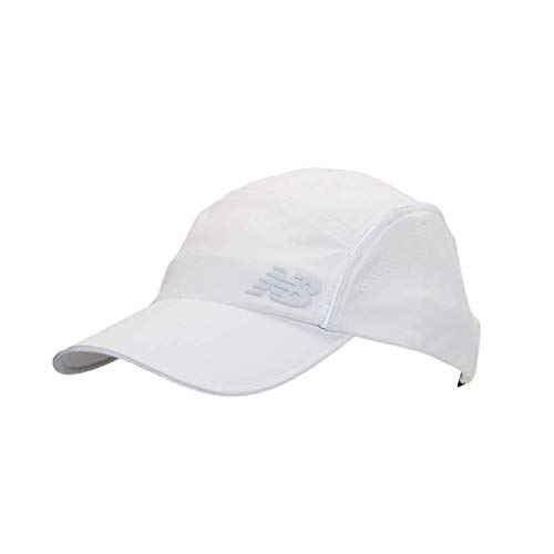 New Balance Laser Cut Moisture-Wicking NB Dry Running Hat White