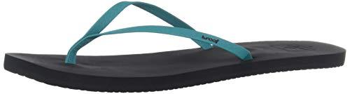 - Reef Women's Bliss Nights Flat Sandal Turquoise 080 M US