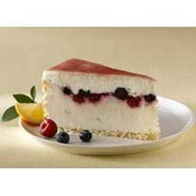 Elis Classic Lemon Mixed Berry Cheesecake, 107 Ounce -- 2 per case. by Elis Cheesecake
