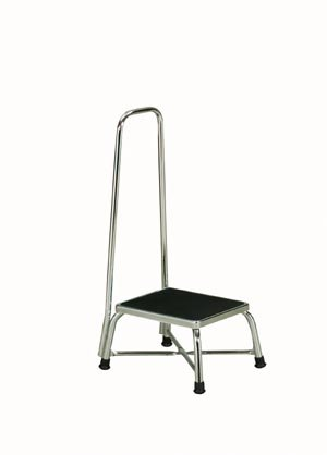 Image of Bunion Splints Pro Advantage P276150 Bariatric Foot Stool, Handrail, Reinforced,'X' Base Construction, 600 lb. Capacity