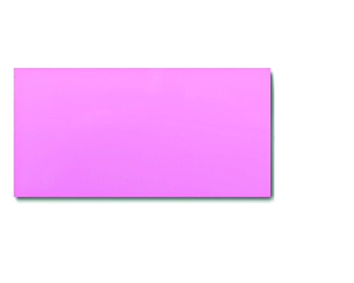 25 Dry Erase Magnetic Shelf Labels 2'' x 4'' - Pink - 20 mil - Write On/Wipe Off by Discount Magnets