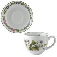 Cup Herb Saucer (Royal Worcester Worcester Herbs Tea Cup & Saucer)