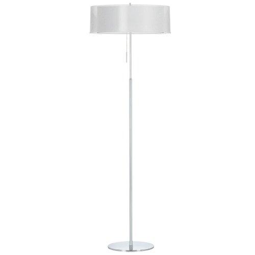 Dainolite Lighting MEL20FLPCWH 2 Light Melissa Floor Lamp (20 Fl Lamp)