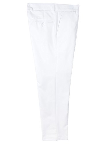 Dress Notion Spring Front White Pants Flat Boys' q7O6HOwax