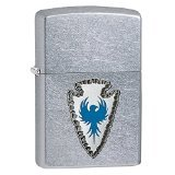 - Zippo Arrowhead Design Pocket Lighter, Street Chrome