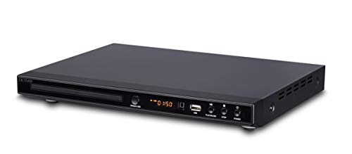 Denver DVH-1244 Multi Region DVD Player & Upscaling DVD player 1080p With...