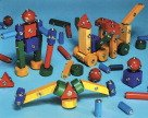 (Children's Snap N Play Blocks- 65 pc Set)
