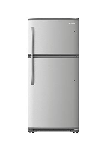 Daewoo RTE18GSSLD Top Mount Refrigerator, 18 Cu.Ft, Stainless, includes delivery and hookup