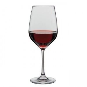 Dartington crystal set of 6 classic red wine glass large for Large red wine glass